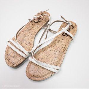 Sam Edelman Circus Cork White Sandal